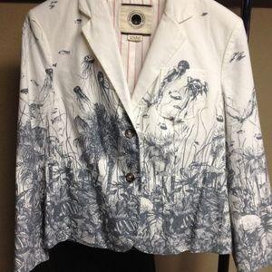 Anthropologie Jackets & Coats - ANTHROPOLOGIE Sea Nettle Blazer Jacket {2C19}